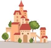 Castle vector Stock Photo