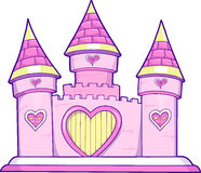 Castle Vector Illustration Stock Photo