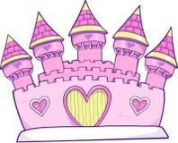 Castle Vector Illustration Royalty Free Stock Photos