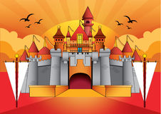 Castle-1 Stock Images