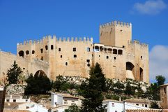 Castle, Velez Blanco, Spain. Stock Photo