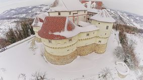 Castle Veliki Tabor in Croatia stock video