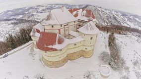 Castle Veliki Tabor in Croatia stock video footage