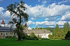 Castle Velke Losiny Stock Photo