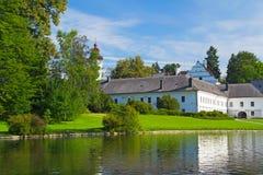 Castle in Velke Losiny (Czech Republic) Stock Images