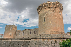 Castle of Venosa Royalty Free Stock Photography