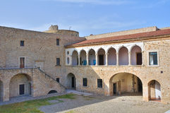 Castle of Venosa. Basilicata. Italy. Stock Photos