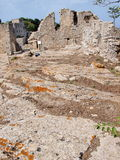 Castle of Venus, Erice, Sicily, Italy Royalty Free Stock Photography