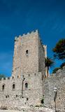 Castle Of Venus, Erice, Sicily Stock Image