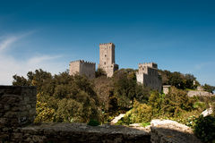 Castle Of Venus, Erice, Sicily Royalty Free Stock Photo