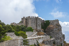 Castle of Venus. Italy, Sicily Stock Images