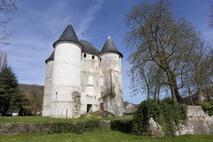 Castle of Vernon Royalty Free Stock Image