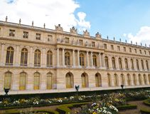 Castle of Versaille frontage Royalty Free Stock Image