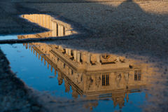 Castle of Versailles Royalty Free Stock Photos