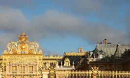 Castle Versailles gate Stock Images