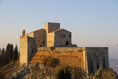 The castle of Verucchio Royalty Free Stock Photos