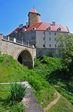 Castle Veveri κοντά στο Μπρνο - Δημοκρατία της Τσεχίας στοκ φωτογραφίες