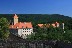 Castle Veveri near Brno Royalty Free Stock Images