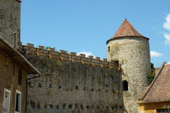 Castle Veveri near Brno Royalty Free Stock Photo