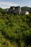 Castle in Vianden, Luxembourg. On a summers morning Royalty Free Stock Image