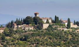 Castle Vicchiomaggio Stock Images
