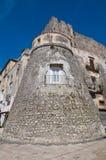 Castle of Vico del Gargano. Puglia. Italy. Royalty Free Stock Photos