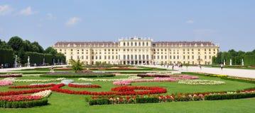 Castle in Vienna, Schonbrunn, Austria, Europe Stock Image