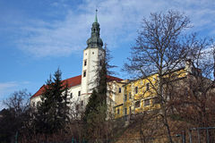 Castle. View of the castle in Hranice na Morave - Czech Republic Royalty Free Stock Photos