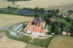 Castle. View of the castle and its surroundings Royalty Free Stock Photography