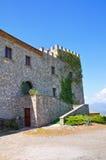 Castle of Viggianello. Basilicata. Italy. Stock Photos