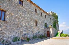 Castle of Viggianello. Basilicata. Italy. Stock Photography