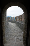 Castle of Vigoleno. Emilia-Romagna. Italy. Stock Image