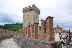 Castle of Vigoleno. Emilia-Romagna. Italy. Royalty Free Stock Photo