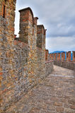 Castle of Vigoleno. Emilia-Romagna. Italy. Royalty Free Stock Images