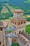 Castle of Vigoleno. Emilia-Romagna. Italy. Royalty Free Stock Photography