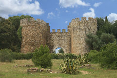 Castle of Vila Vicosa Royalty Free Stock Image