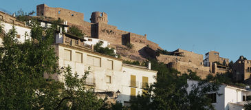 Castle of Villafames town Royalty Free Stock Image