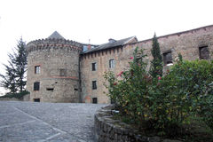 Castle of villafranca Stock Images