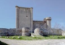 Castle of  Villafuerte of Esgueva Stock Photography