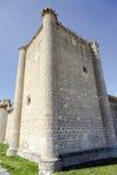 Castle of  Villafuerte of Esgueva Stock Image