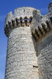 Castle of  Villafuerte of Esgueva Royalty Free Stock Image