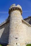 Castle of  Villafuerte of Esgueva Royalty Free Stock Images