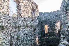 Castle in village Nevicke, Ukraine Royalty Free Stock Photos