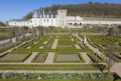Castle of Villandry Stock Photo