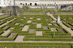 Castle of Villandry Stock Photos