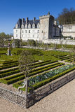 Castle of Villandry Stock Images