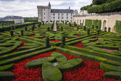 Castle of Villandry. Loire Valley, France Royalty Free Stock Photo
