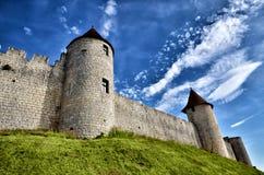 Castle of Villebois-Lavalette, France Stock Images
