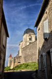 Castle of Villebois-Lavalette, France Stock Photography