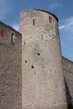 Castle of Villefranche de Conflent in Pyrenees Orientales, France Stock Photo